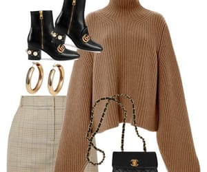 chanel, gucci, and outfit image
