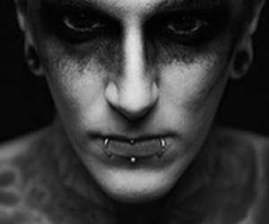 graveyard shift, motionless in white, and chris motionless image