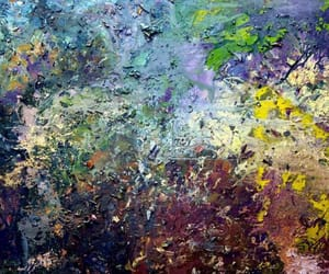 Abstract Painting, japanese artist, and action painting image