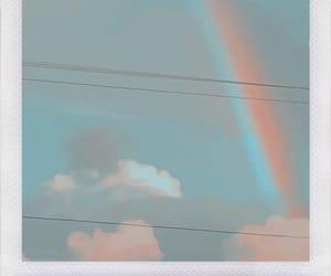 rainbow, sky, and bts image