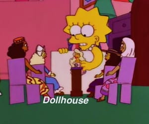 the simpsons, grunge, and simpsons image