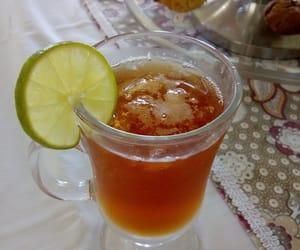 drink, te, and tea image