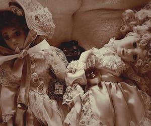 aesthetic, creepy, and dolls image