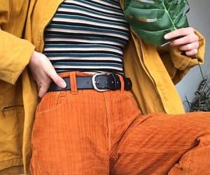 orange, 90s, and aesthetic image