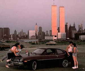 car, city, and couple image