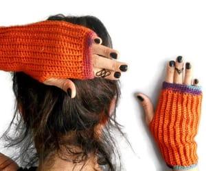 etsy, gloves women, and fingerless gloves image