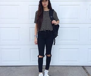 adidas, school, and jeans image