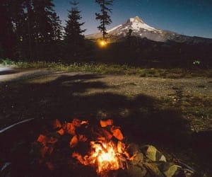 adventure, campfire, and outdoor image