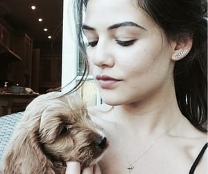beautiful, danielle campbell, and brunette image