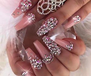 nail art, coffin nails, and nails image