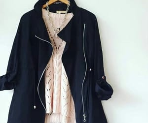 clothes, outfit, and parkas image