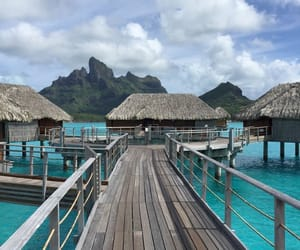 holiday, travel, and borabora image