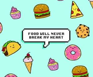 food, girl, and icecream image