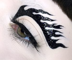 cosmetics, eyeliner, and makeupart image