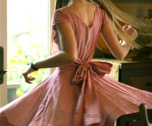 bow, twirl, and dress image