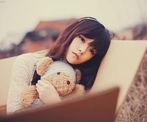girl, ulzzang, and sad image