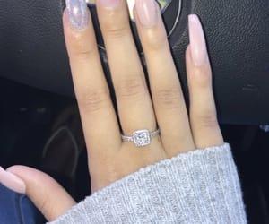 long nails, nails, and nail designs image