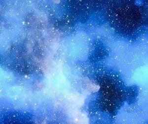 galaxy, blue, and wallpaper image