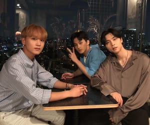 nct, mark, and johnny image