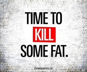 fat, gym, and kill image