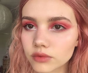 makeup, pretty, and rose gold image