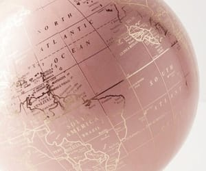 charming, globe, and pretty image