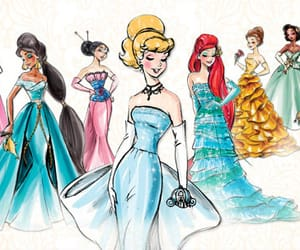 article, colors, and princess image