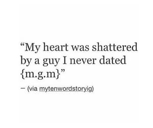 broken heart, life, and love quotes image