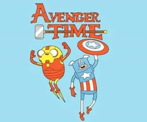 adventure, time, and Avengers image