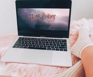 computer, harry potter, and hp image