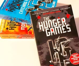 bibliophile, books, and the hunger games image