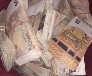 argent, billets, and euro image
