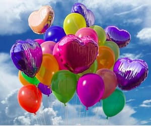 colors and balloons image