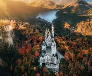 castle, germany, and landscape image