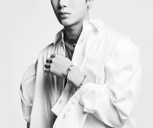 black and white, sexy, and got7 image