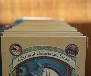 A Series of Unfortunate Events, bibliophile, and books image