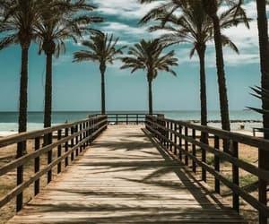 beach, playa, and wallpaper image