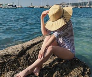 beach, fun, and vacation image
