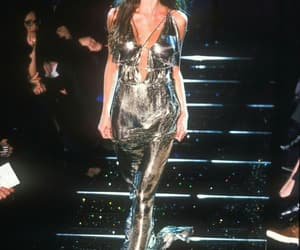 90s, runway, and supermodels image