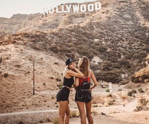 bff, california, and hollywood image