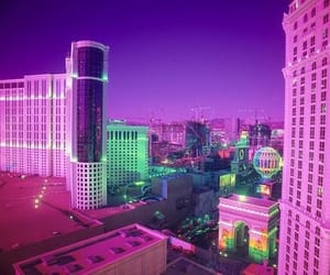 green, neon, and purple image