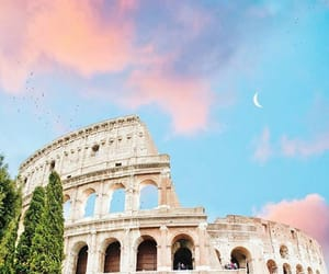 italy, rome, and sky image
