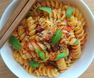 basil, chia seeds, and pasta image