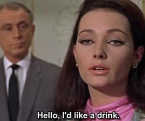 60s, movie, and drink image