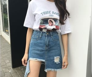 girl, kfashion, and outfit image