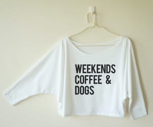 coffee, dogs, and gift idea image