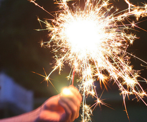 fire, sparkler, and free image