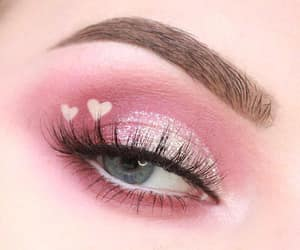 makeup, aesthetic, and fashion image