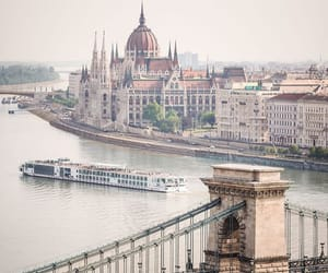 cruise, danube, and river image