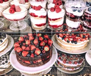 chocolate, delicious, and fresas image